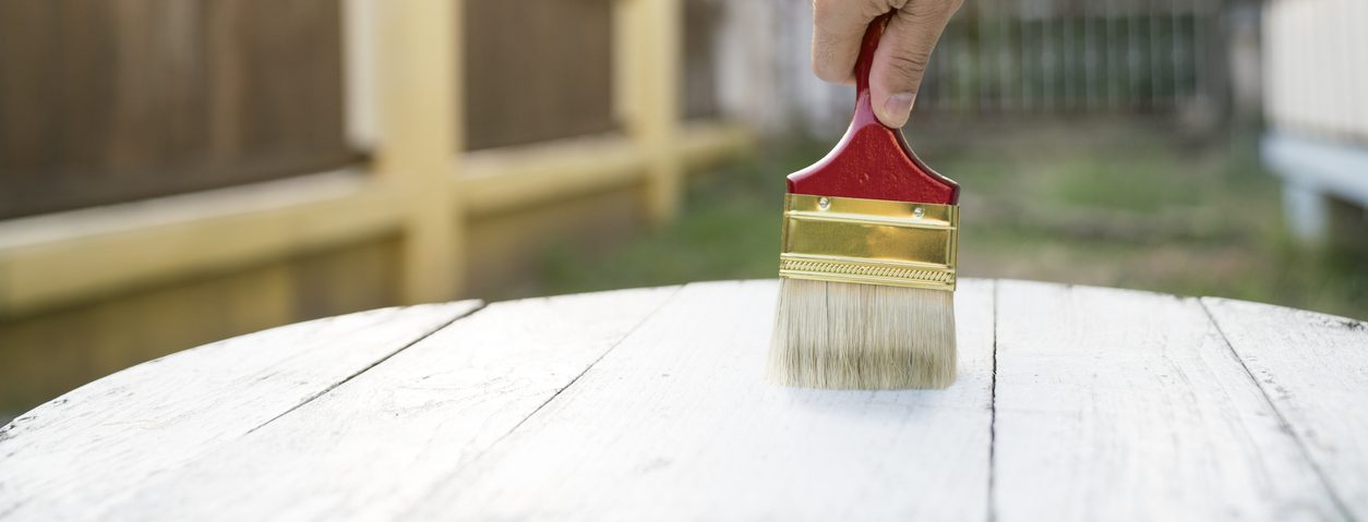 peinture meuble bois