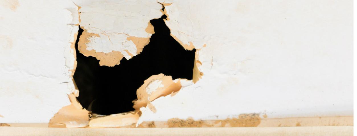 reboucher des trous dans le mur beautiful poncer jusqu ce. Black Bedroom Furniture Sets. Home Design Ideas