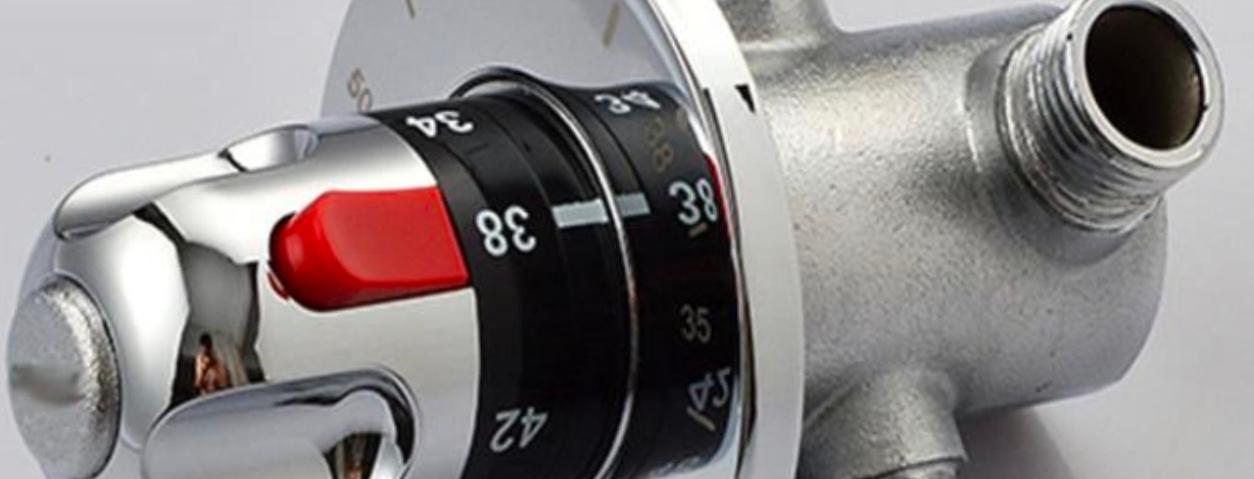 Réglage mitigeur thermostatique